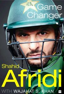 Shahid Afridi Book (Game Changer) with Wajahat S. Khan