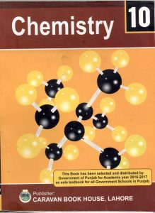 10th Class Chemistry Book (English Medium)