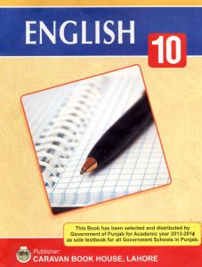 10th Class English Book