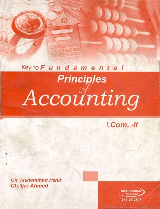 12th Class ICom Accounting Helping Book 1