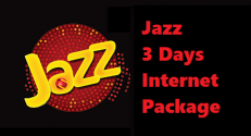 Jazz 3 Day Internet Package
