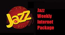 Jazz Weekly Internet Packages