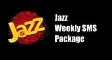 Jazz Weekly SMS Package