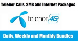 Telenor Calls, SMS & Internet Packages (Daily, Weekly & Monthly)